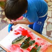 Spray Bottle Painting (with a science twist)